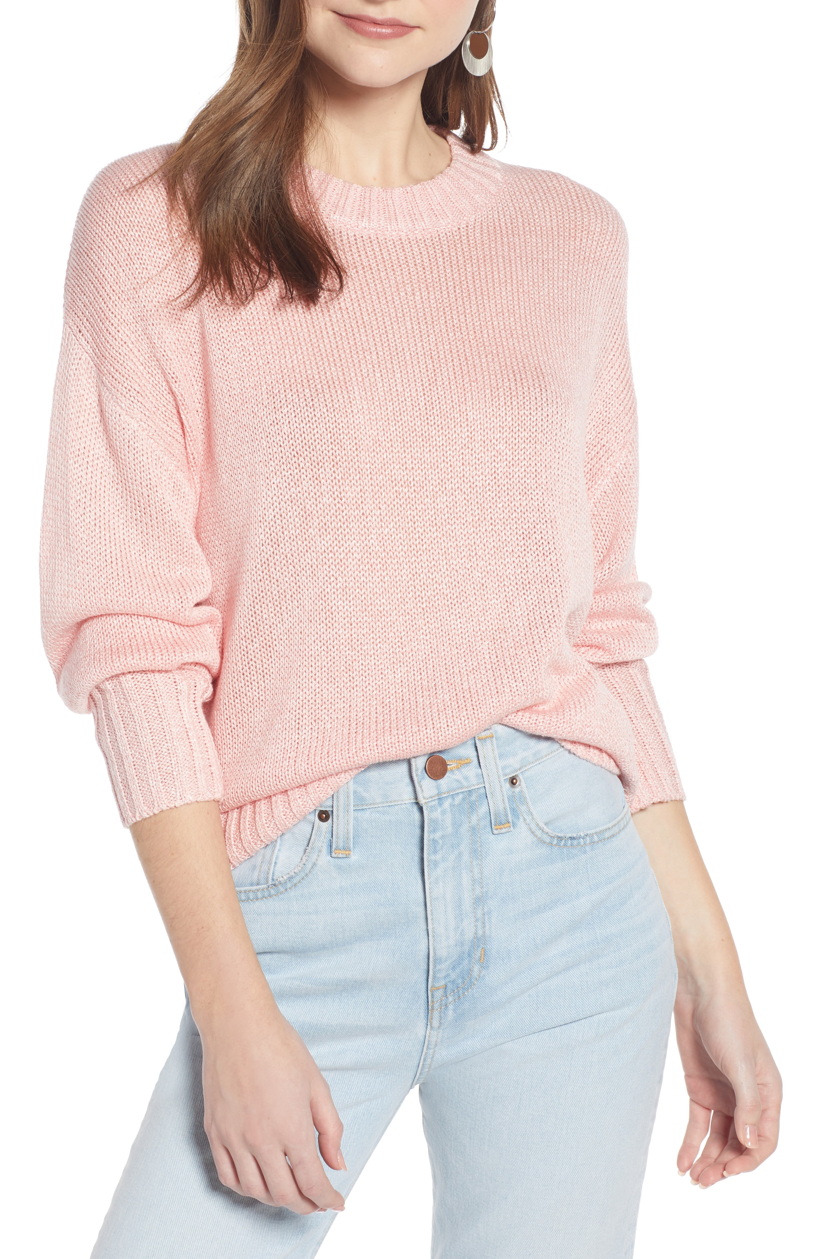 pink sweater | Nordstrom