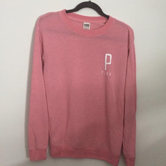 PINK Victoria's Secret Tops | Pink Sweatshirt | Poshmark