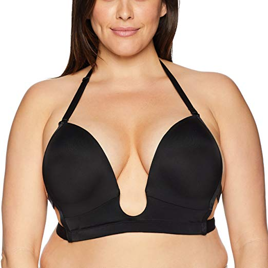 Maidenform Women's Sexy Plunge Convertible Bra-Fully Adjustable at