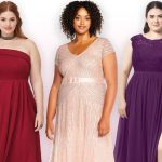 Gorgeous look with plus size   bridesmaid dresses