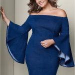 People will admire you with   stylish plus size denim dress