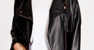 Shop Women's Plus Size Women's Plus Size Faux Leather Jacket | City