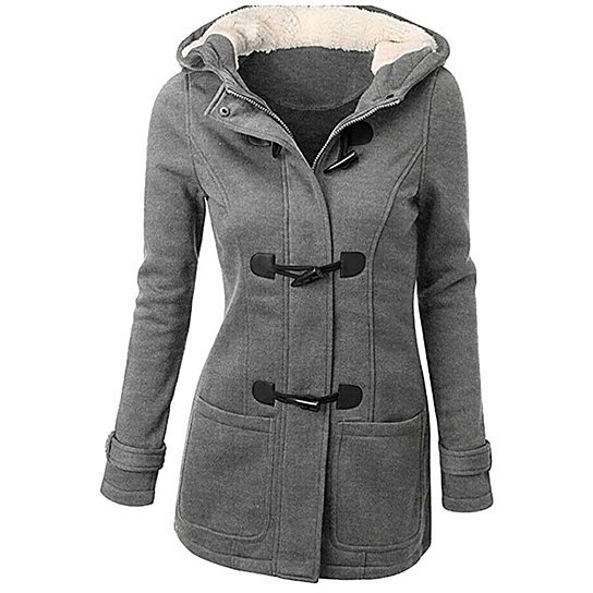 Buy Women's Plus Size Pea Coat by Uncle Thank's Store on OpenSky