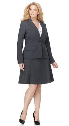 Best Places to Shop for Plus Size Women's Business Suits