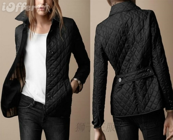 women quilted cotton quilted jacket Slim coat for sale