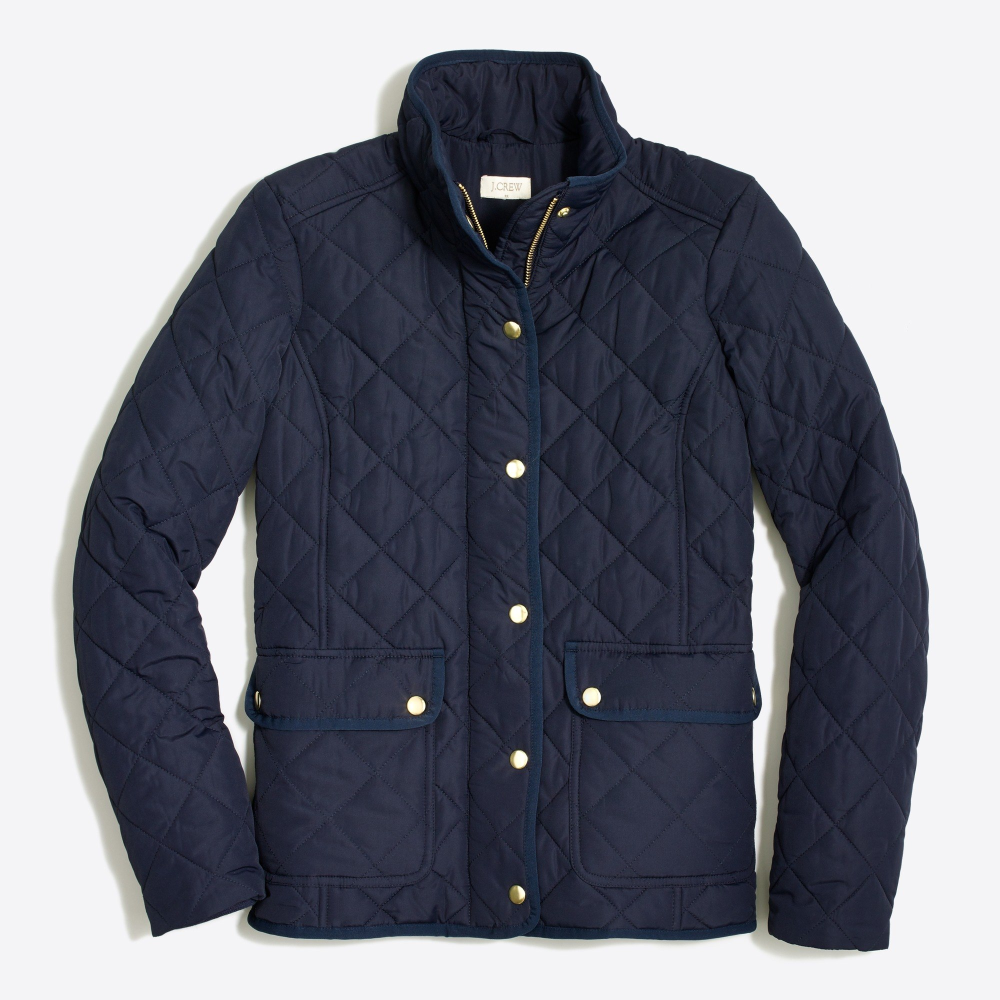 Quilted jacket : | Factory
