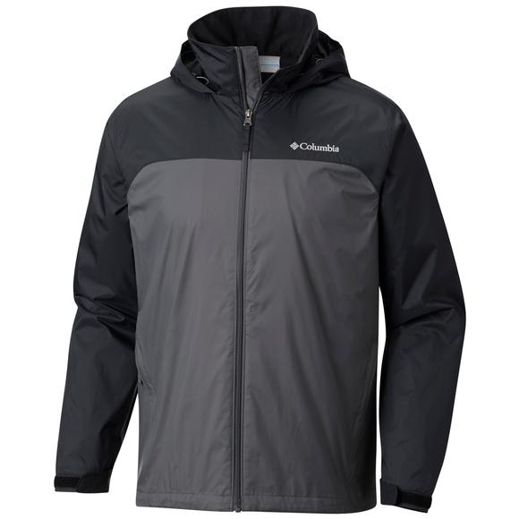 Columbia Men's Glennaker Lake Lined Rain Jacket (Tall Extended