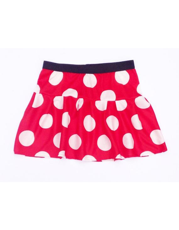 Red and White Polka Dot Inspired Running Skirt u2013 Rock City Skirts