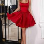 Get superior complexion with   the Red cocktail dresses