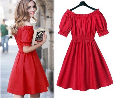 drop ship L-5XL plus size dress 50s style pinup dress retro clothes