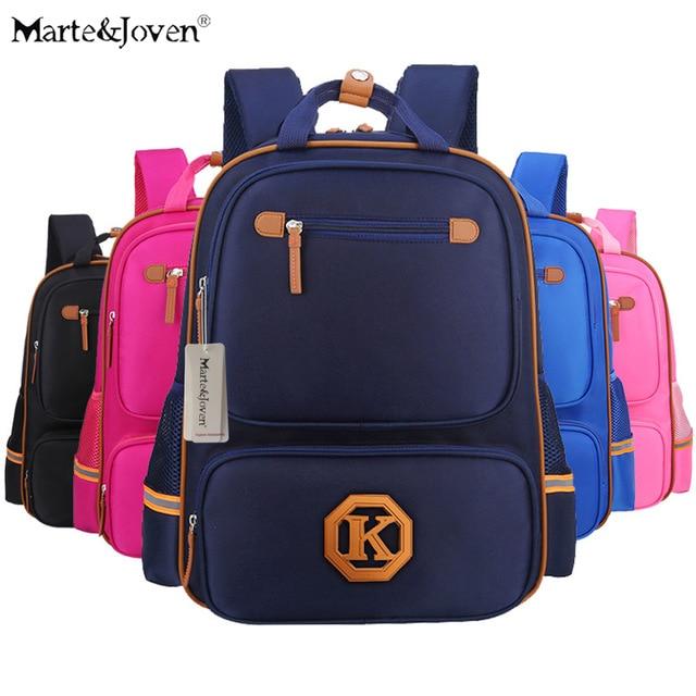 Marte&Joven] New Arrival Best Waterproof School Bags for Children