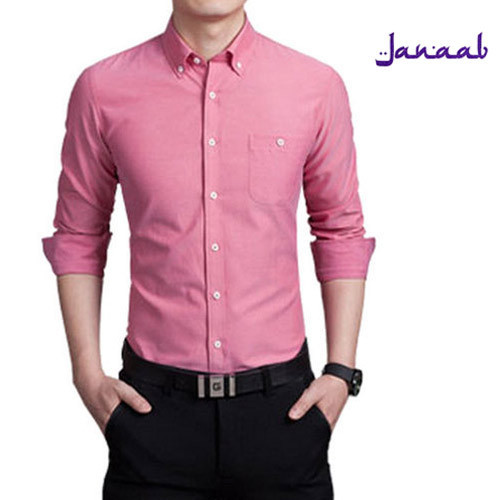 Men Cotton Pink Formal Shirt, Size: S To XXL, Rs 390 /piece | ID