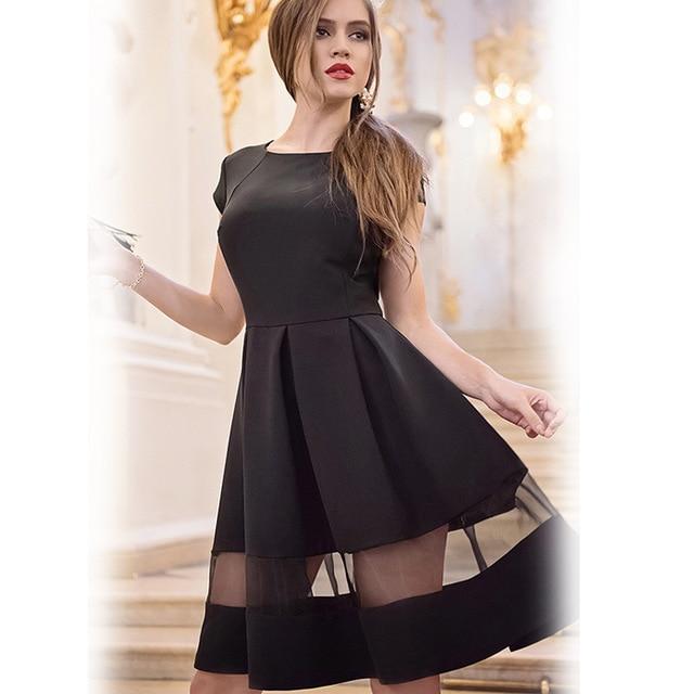 2016 short women dresses free shipping lady dresses knee length