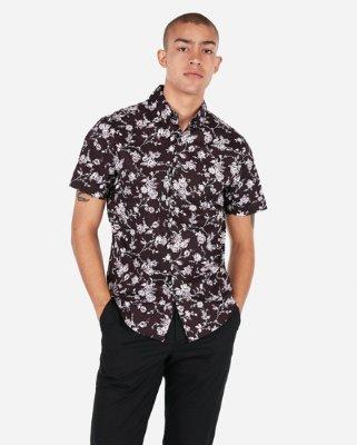 Men's Short Sleeve Shirts - Express