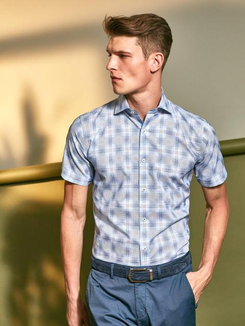 short sleeve shirts Bugatchi