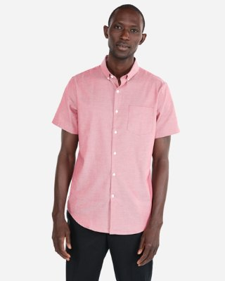 Fitted Short Sleeve 1mx Shirt | Express