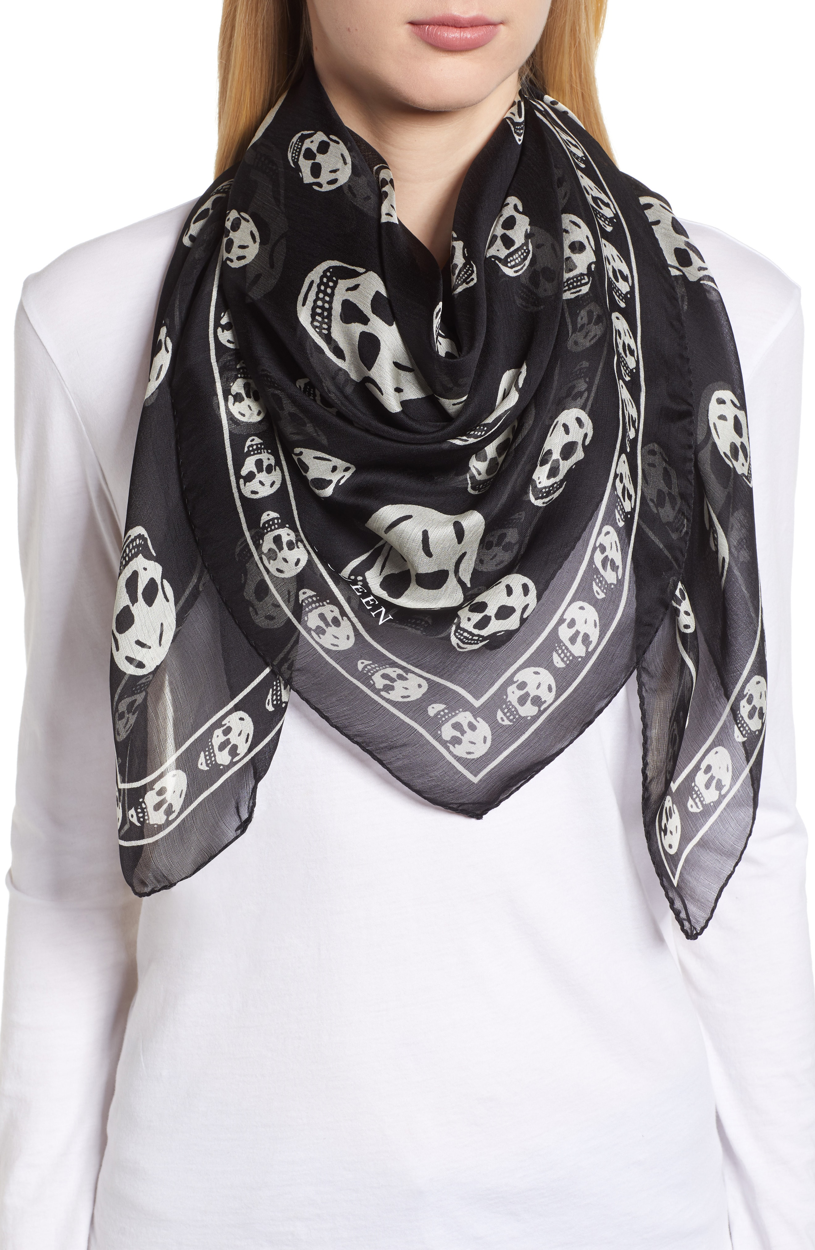 Silk Square Scarves for Women: Silk, Cashmere, Cotton & More | Nordstrom