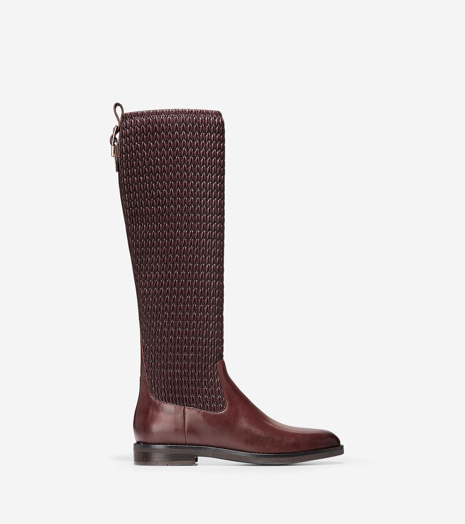 Women's Lexi Grand Stretch Boots in Chocolate | Cole Haan