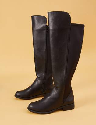Stretch Back Boots - ShopStyle