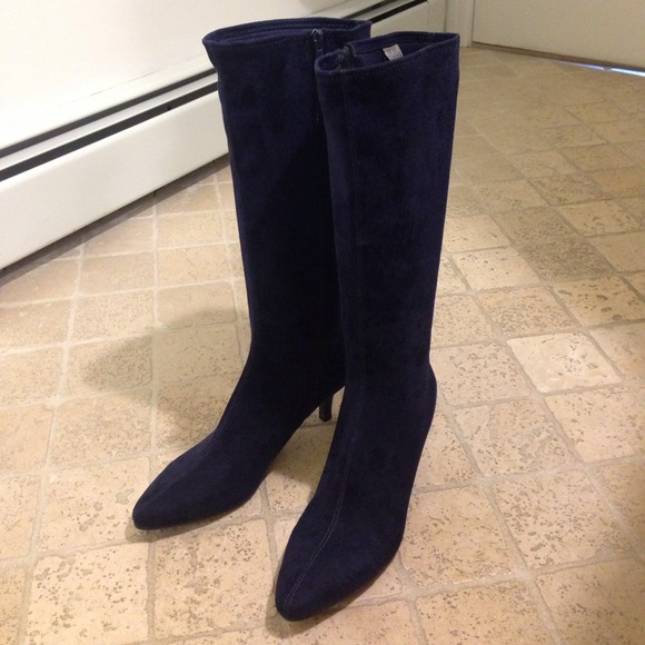 impo Shoes | Stretch Boots Norris Midnight Blue | Poshmark