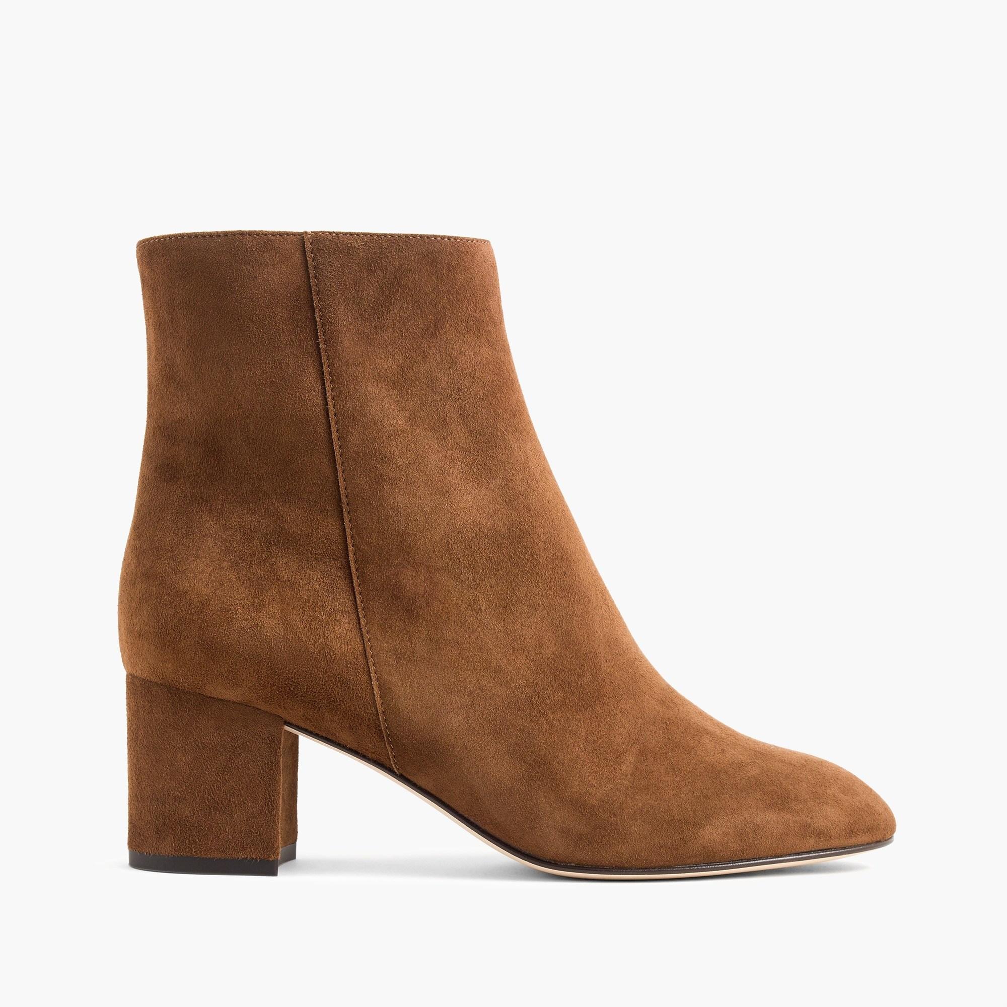 Hadley suede boots : | J.Crew