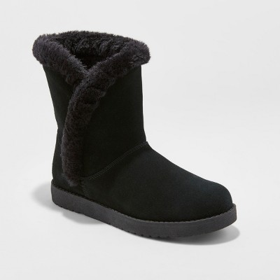 Women's Daniah Suede Winter Boots - Universal Thread™ : Target