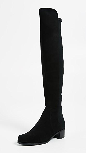 Stuart Weitzman Reserve Stretch Suede Boots | SHOPBOP