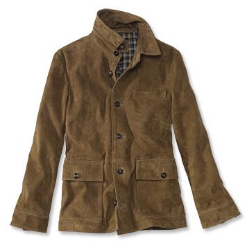 Addison Goatskin Suede Jacket / Addison Suede Jacket -- Orvis