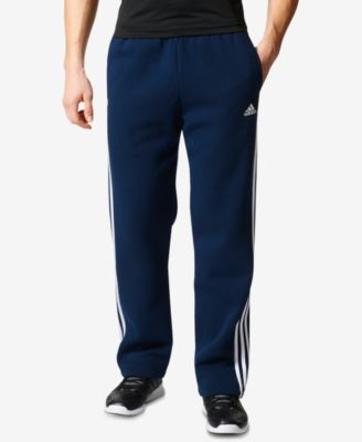 adidas Men's Essential Open-Hem Fleece Sweatpants - All Activewear