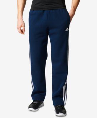 adidas Men's Essential Open-Hem Fleece Sweatpants - All Activewear