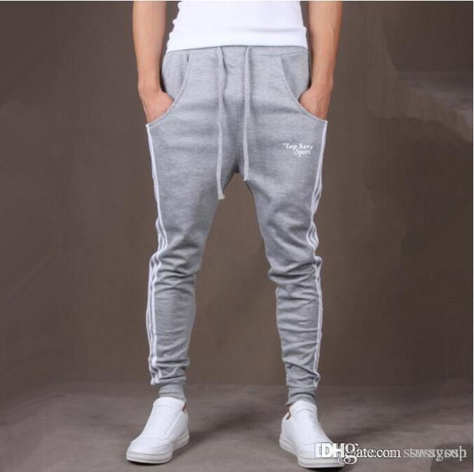 Wholesale Mens Joggers Casual Harem Sweatpants Men Loose Joggers