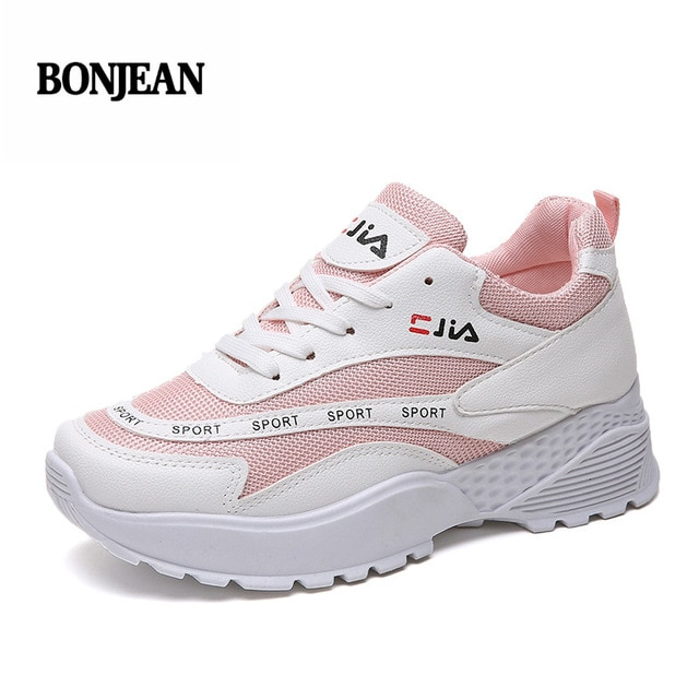 Brand Tenis Mujer 2018 New Summer Women Tennis Shoes Breathable Gym