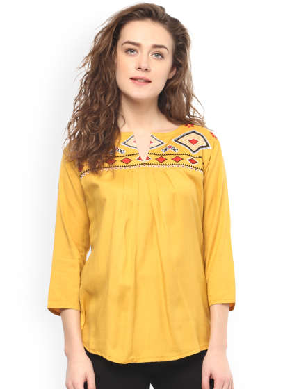 Tops - Buy Designer Tops for Girls & Women Online | Myntra