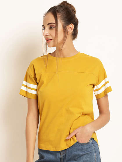 Ladies Tops - Buy Tops & T-shirts for Women Online | Myntra