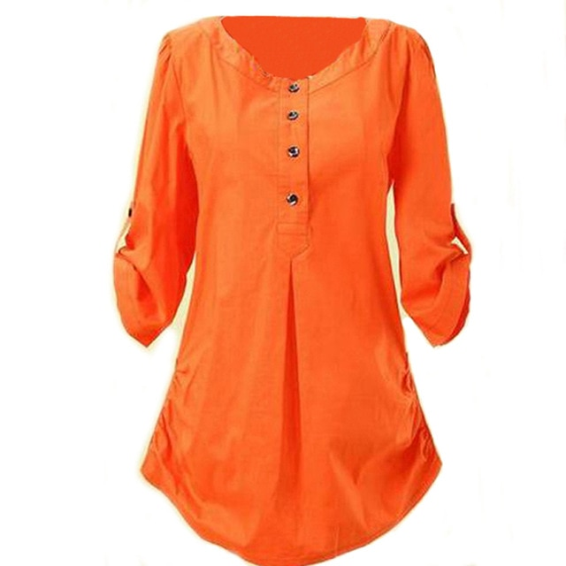 Women blouses shirts women clothing XXXXL plus size tops ladies XXXL