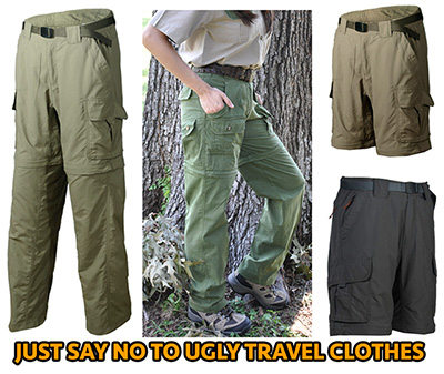 Guide to Travel Clothes and Performance Techwear
