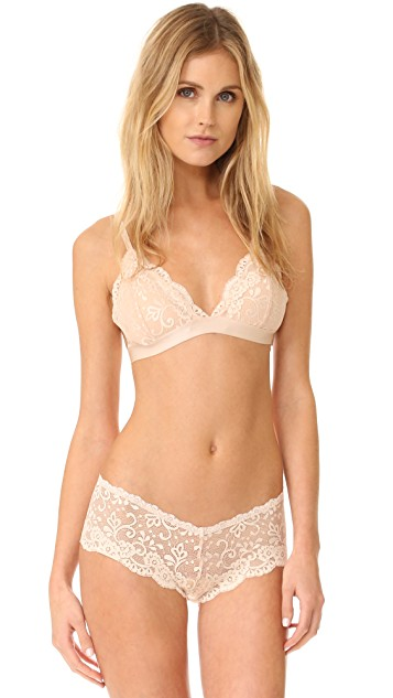 Les Coquines Harlow Lace Triangle Bra   SHOPBOP