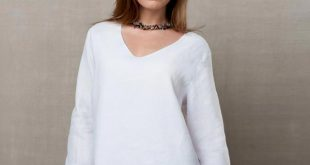 Easy Fit Double Layer Garment Dyed Linen Tunic Top | 39 Reviews