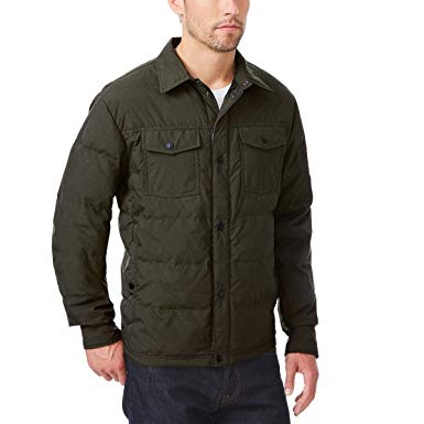 32 Degrees Heat Men's Ultra Light Down Packable Jacket Coat Iris
