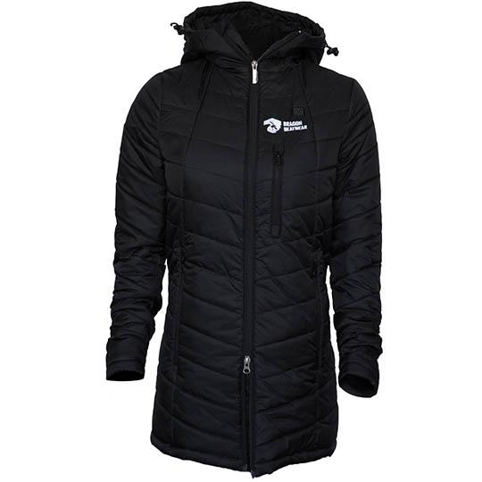 Buy Delphyne Womens 5 Zone Heated Jacket, Onyx at CozyWinters