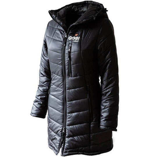 Buy Victoria Womens 5 Zone Heated Jacket, Onyx at CozyWinters