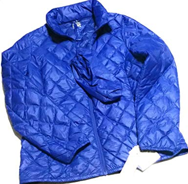 Amazon.com: 32 Heat Packable Ultra Light Down Jacket (Medium, Blue