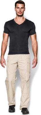Men's Tactical HeatGear® Compression V-Neck T-Shirt | Under Armour US