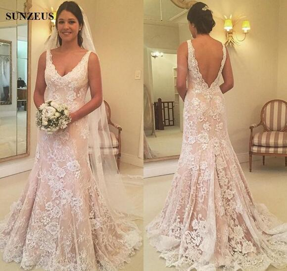 Mermaid Vintage Lace Wedding Dresses With by Miss Zhu Bridal on Zibbet