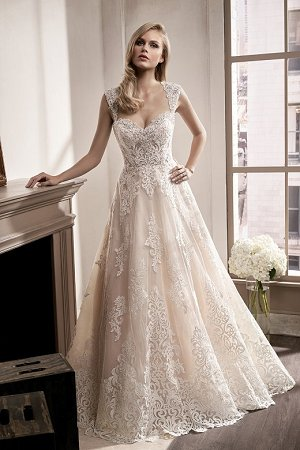 Inspired Vintage Wedding Dresses-Unique Lace Dress Styles at Jasmine
