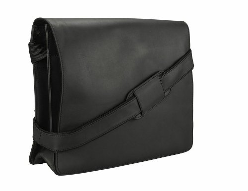 Visconti Leather Messenger Bag 18548 Shoulder - Visconti