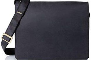 Amazon.com | Visconti Leather Distressed Messenger Bag Harvard