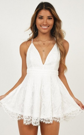 White Rompers | Shop White Rompers & Jumpsuits Online | Showpo