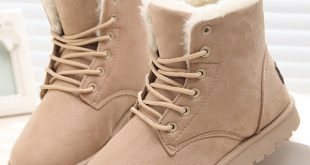 New Warm Winter Boots For Women Ankle Boots Snow Girls Boots Female