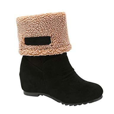 Amazon.com: Vovotrade Women's Snow Boots Winter Ankle Boots Women
